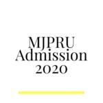MJPRU Admission 2020